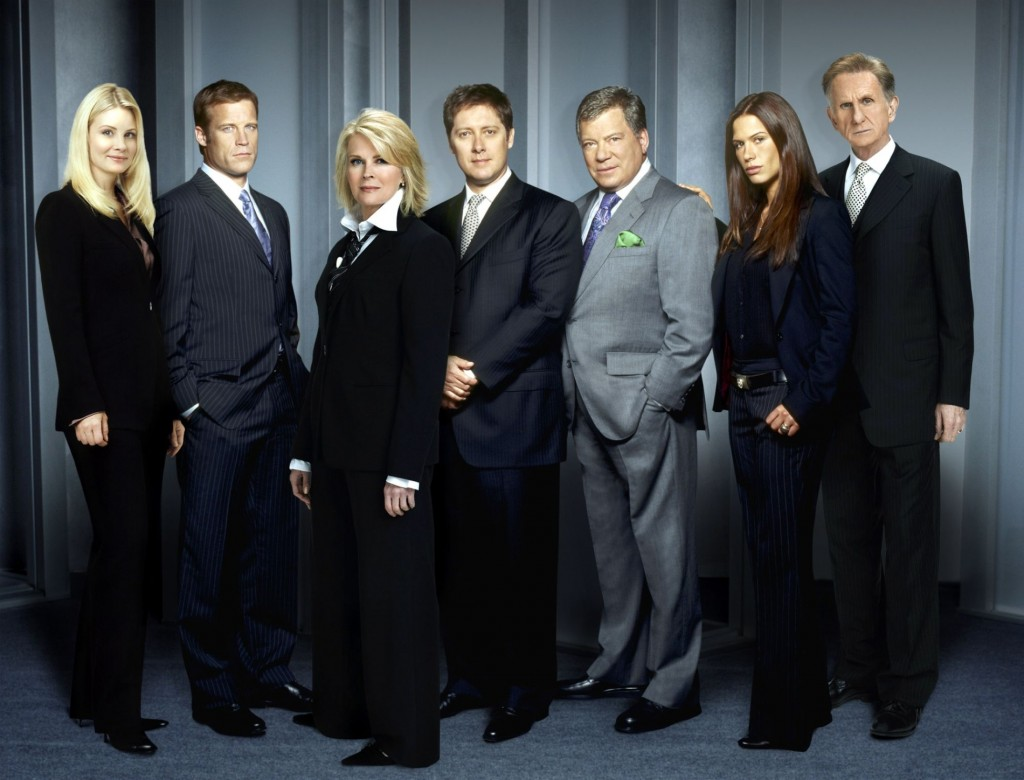 MONICA POTTER, MARK VALLEY, CANDICE BERGEN, JAMES SPADER, WILLIAM SHATNER, RHONA MITRA, RENE AUBERJONOIS