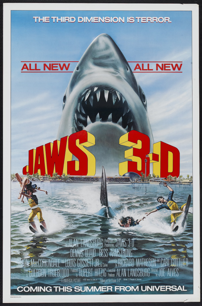 Jaws 3D - poster