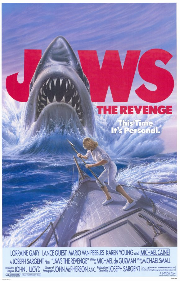 Jaws 4 - poster