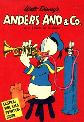 Anders And & Co. nr.  10 - 1965 (lille)