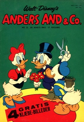 Anders And & Co. nr.  13 - 1965 (lille)