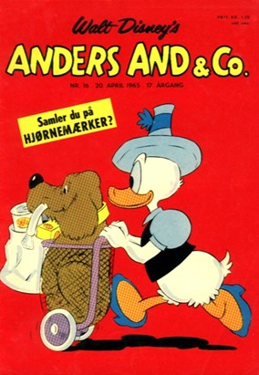 Anders And & Co. nr.  16 - 1965 (lille)