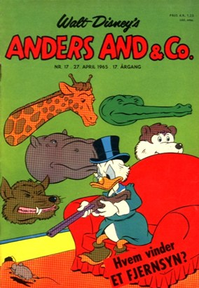 Anders And & Co. nr.  17 - 1965 (lille)