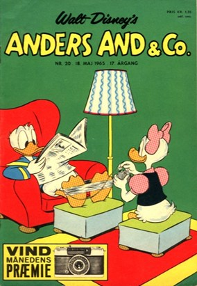 Anders And & Co. nr.  20 - 1965 (lille)