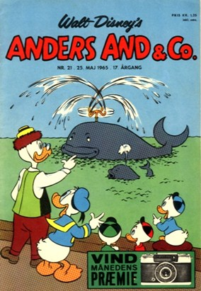 Anders And & Co. nr.  21 - 1965 (lille)
