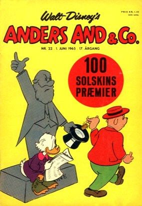 Anders And & Co. nr.  22 - 1965 (lille)