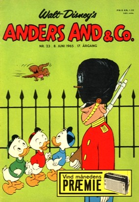 Anders And & Co. nr.  23 - 1965 (lille)