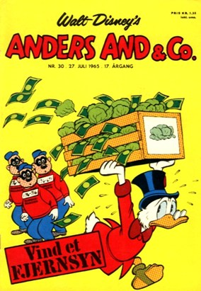 Anders And & Co. nr.  30 - 1965 (lille)