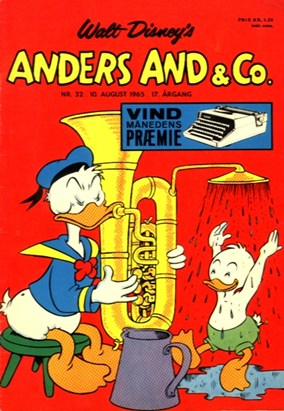 Anders And & Co. nr.  32 - 1965 (lille)