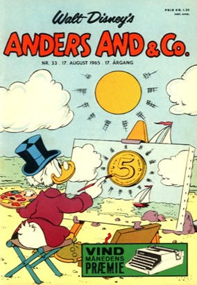 Anders And & Co. nr.  33 - 1965 (lille)