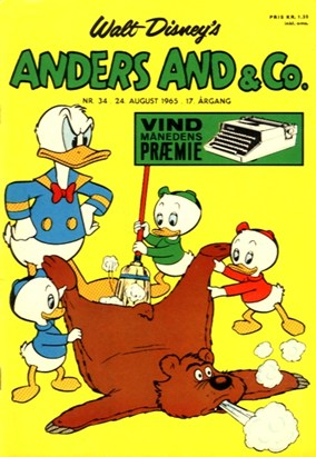 Anders And & Co. nr.  34 - 1965 (lille)