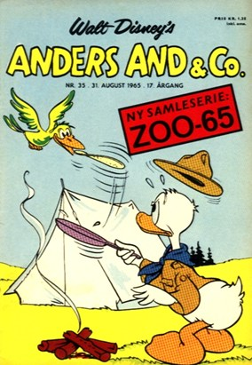Anders And & Co. nr.  35 - 1965 (lille)