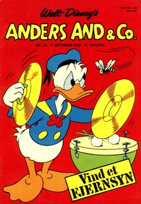 Anders And & Co. nr.  36 - 1965 (lille)