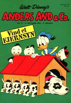 Anders And & Co. nr.  37 - 1965 (lille)