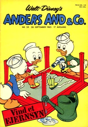 Anders And & Co. nr.  39 - 1965 (lille)