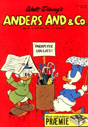 Anders And & Co. nr.  40 - 1965 (lille)