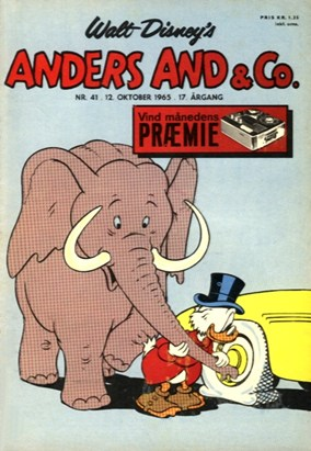 Anders And & Co. nr.  41 - 1965 (lille)