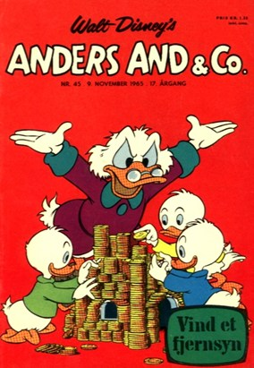 Anders And & Co. nr.  45 - 1965 (lille)