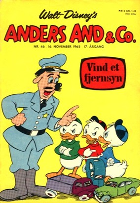 Anders And & Co. nr.  46 - 1965 (lille)