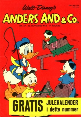 Anders And & Co. nr.  47 - 1965 (lille)