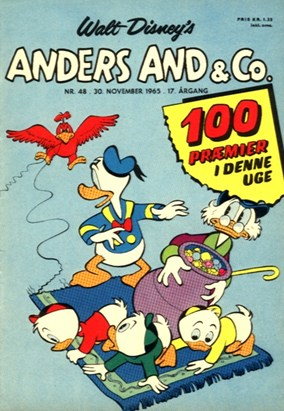 Anders And & Co. nr.  48 - 1965 (lille)