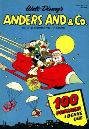 Anders And & Co. nr.  51 - 1965 (lille)
