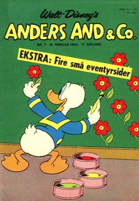 Anders And & Co. nr.  7 - 1965 (lille)