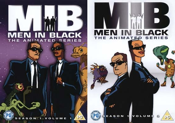 Men in Black - The animated series (dvd)