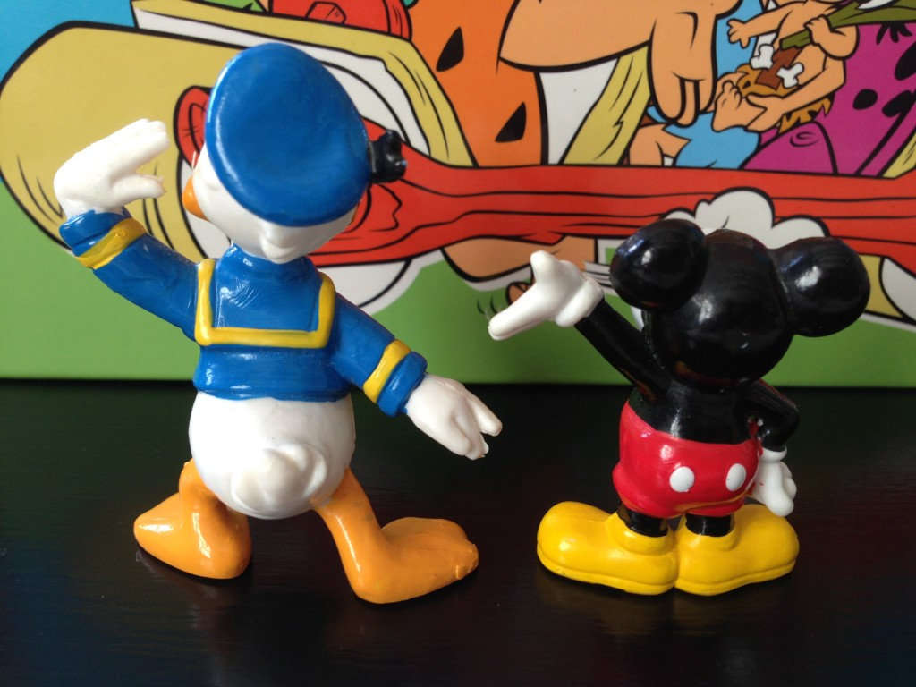Bullyland - Mickey Mouse & Donald Duck (2)