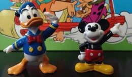 Bullyland - Mickey Mouse & Donald Duck
