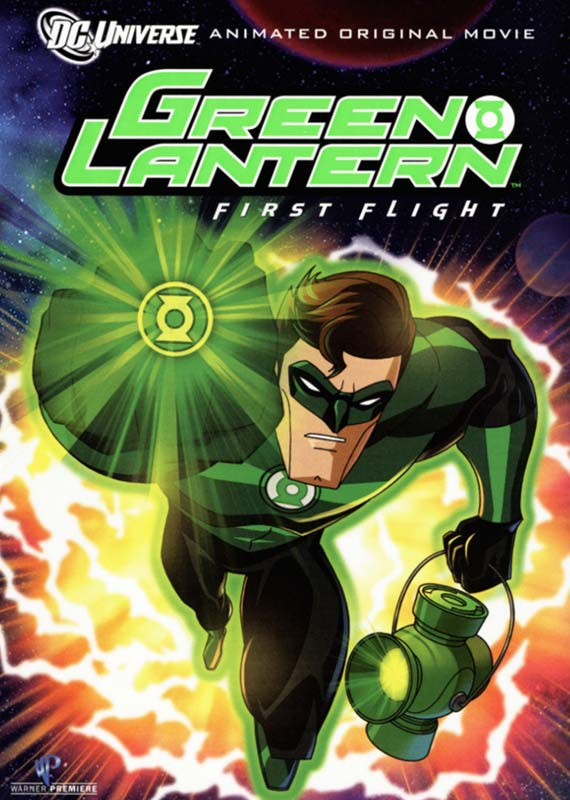 Green Lantern - First Flight (dvd - stor)