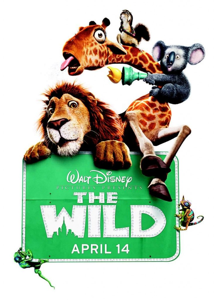 The-Wild-Salvaje-Walt-Disney-Poster-Cartel