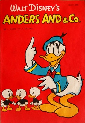 Anders And & Co. nr.  1 - 1949 (lille)