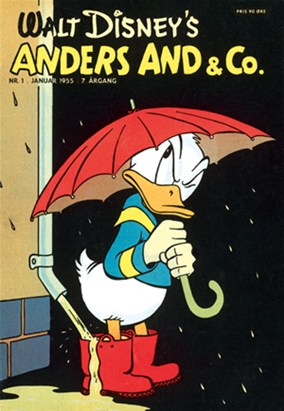 Anders And & Co. nr.  1 - 1955 (lille)