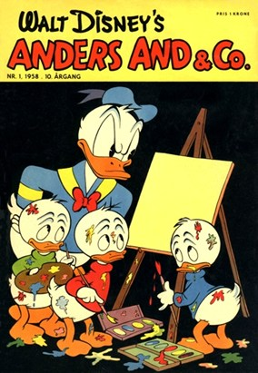Anders And & Co. nr.  1 - 1958 (lille)