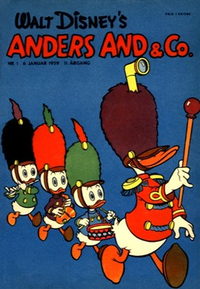 Anders And & Co. nr.  1 - 1959 (lille)