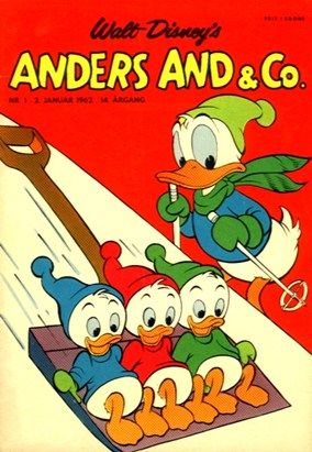 Anders And & Co. nr.  1 - 1962 (lille)