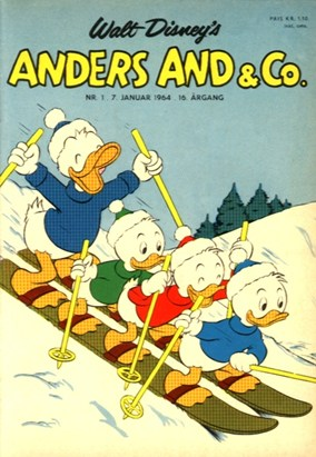 Anders And & Co. nr.  1 - 1964 (lille)