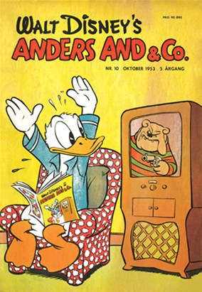 Anders And & Co. nr.  10 - 1953 (lille)