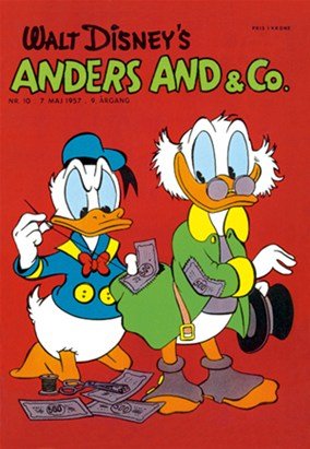 Anders And & Co. nr.  10 - 1957 (lille)
