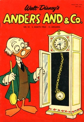 Anders And & Co. nr.  10 - 1963 (lille)