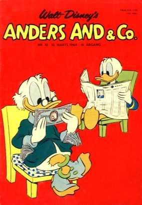 Anders And & Co. nr.  10 - 1964 (lille)