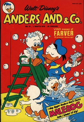 Anders And & Co. nr.  10 - 1976 (lille)