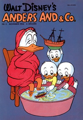Anders And & Co. nr. 11 - 1954 (lille)
