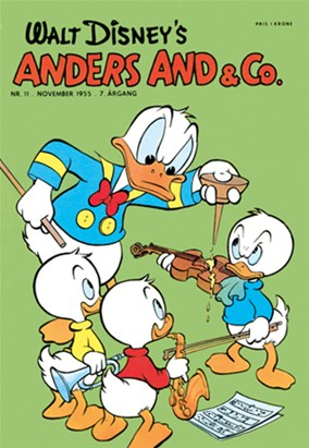 Anders And & Co. nr.  11 - 1955 (lille)