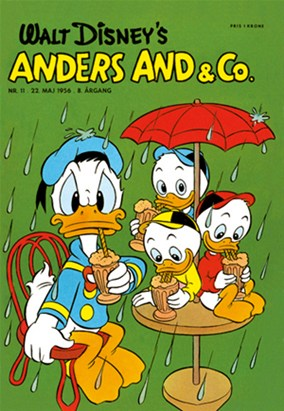 Anders And & Co. nr.  11 - 1956 (lille)