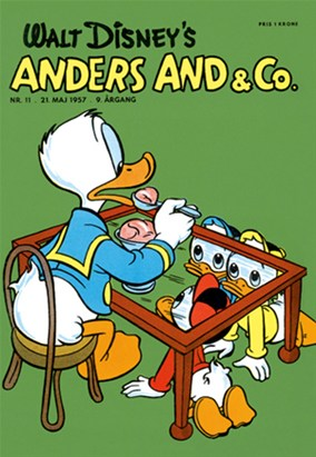 Anders And & Co. nr.  11 - 1957 (lille)