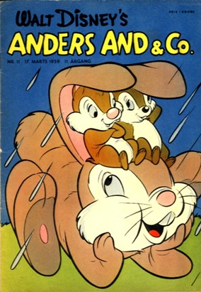 Anders And & Co. nr.  11 - 1959 (lille)