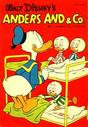 Anders And & Co. nr.  11 - 1961 (lille)