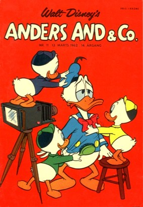 Anders And & Co. nr.  11 - 1962 (lille)